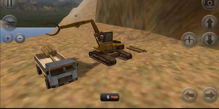 Truck Loading Games with Forklift