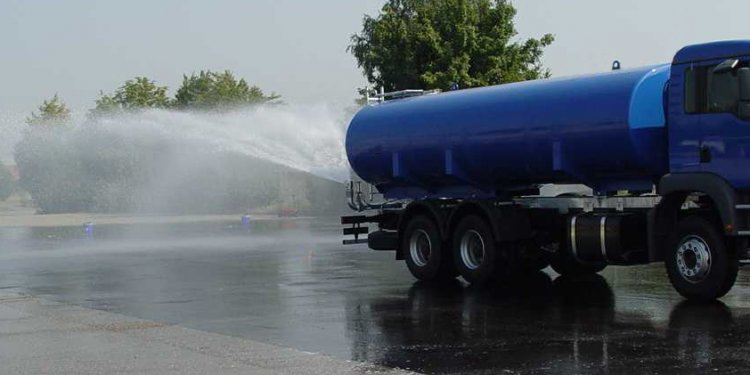 Water Truck spray nozzles