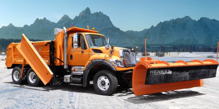 Truck mounted Snow Plows