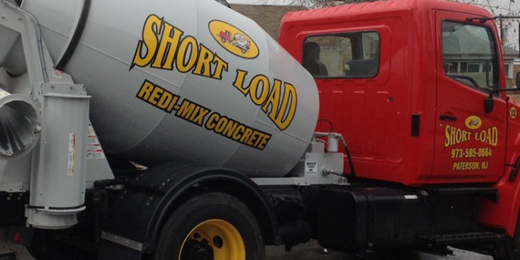 Concrete truck load