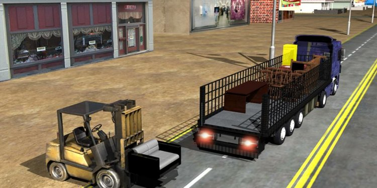 Forklift Games Loading trucks