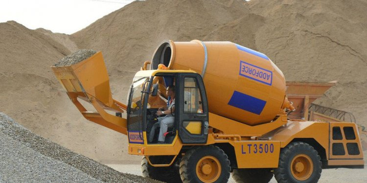Concrete mixer truck price