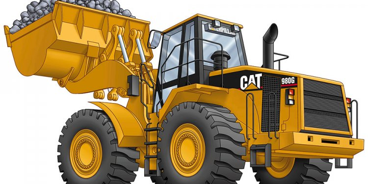 Front Loader Caterpillar