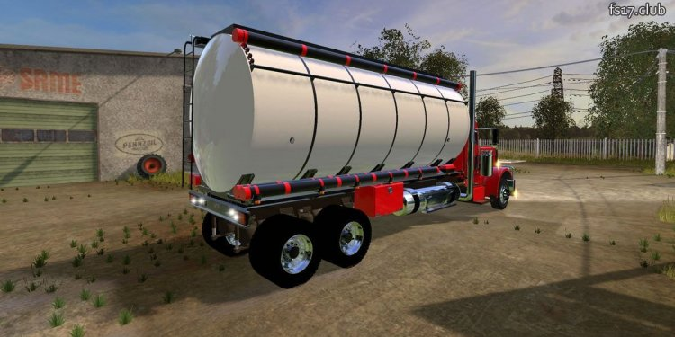 Truck with Water Tank