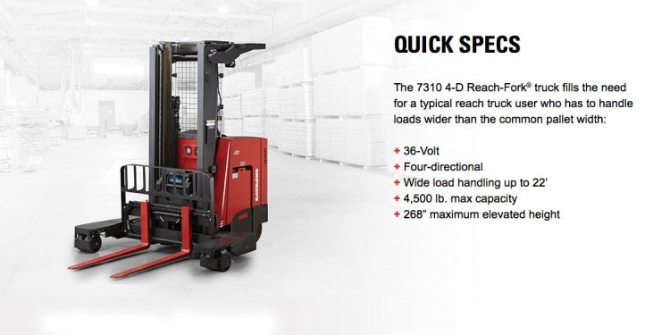 Reach Fork Trucks