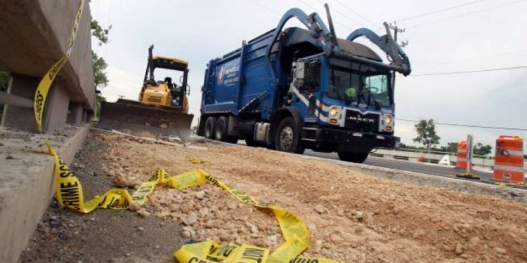 Uses of road construction equipment