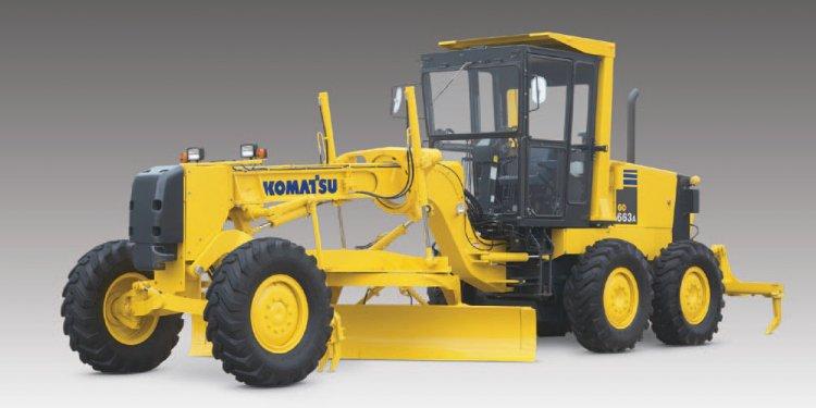 Motor Grader Komatsu