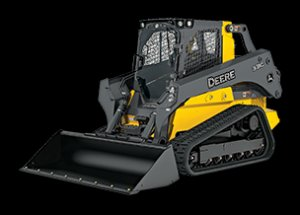 Studio Image of a 329E Compact Track Loader