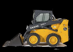 Studio Image of a John Deere Skid Steer