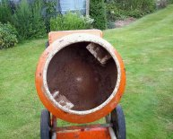 Belle 150 Electric Cement Mixer