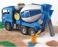Bruder Cement Mixer Video