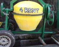 Cement Mixers for Rental