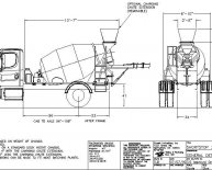 Concrete Mixer Dimensions