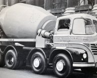 Concrete Mixer lorry