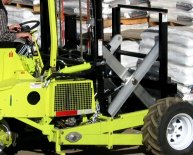 Donkey Truck mounted forklift