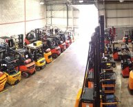 Fork Truck warehouse