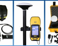 Handheld GPS Surveying Equipment