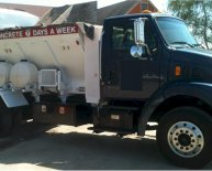 Mobile concrete Batch truck