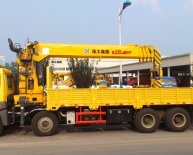 Rear mounted Crane Truck