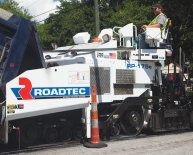 Roadtec Asphalt Pavers
