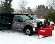 Snow Plow with truck