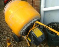 Wickes Cement Mixer