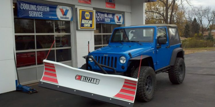 Used Jeep Snow Plows
